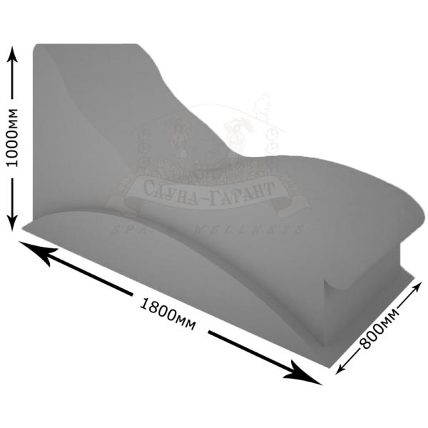 Лежак для хамама Белуга