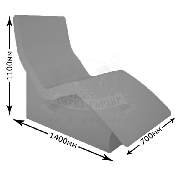 Лежак для хамама Лагуна