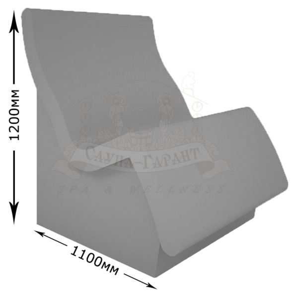 Сиденье лежак Лигэ для хамама